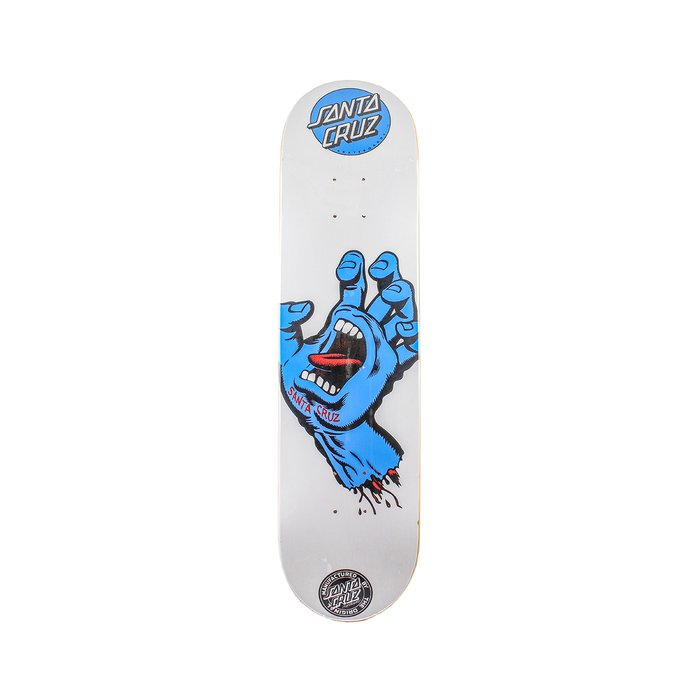 SHAPE SANTA CRUZ POWERLYTE SCREAMING HAND WHITE 7.9