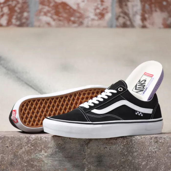 TÊNIS VANS SKATE OLD SKOOL BLACK/WHITE
