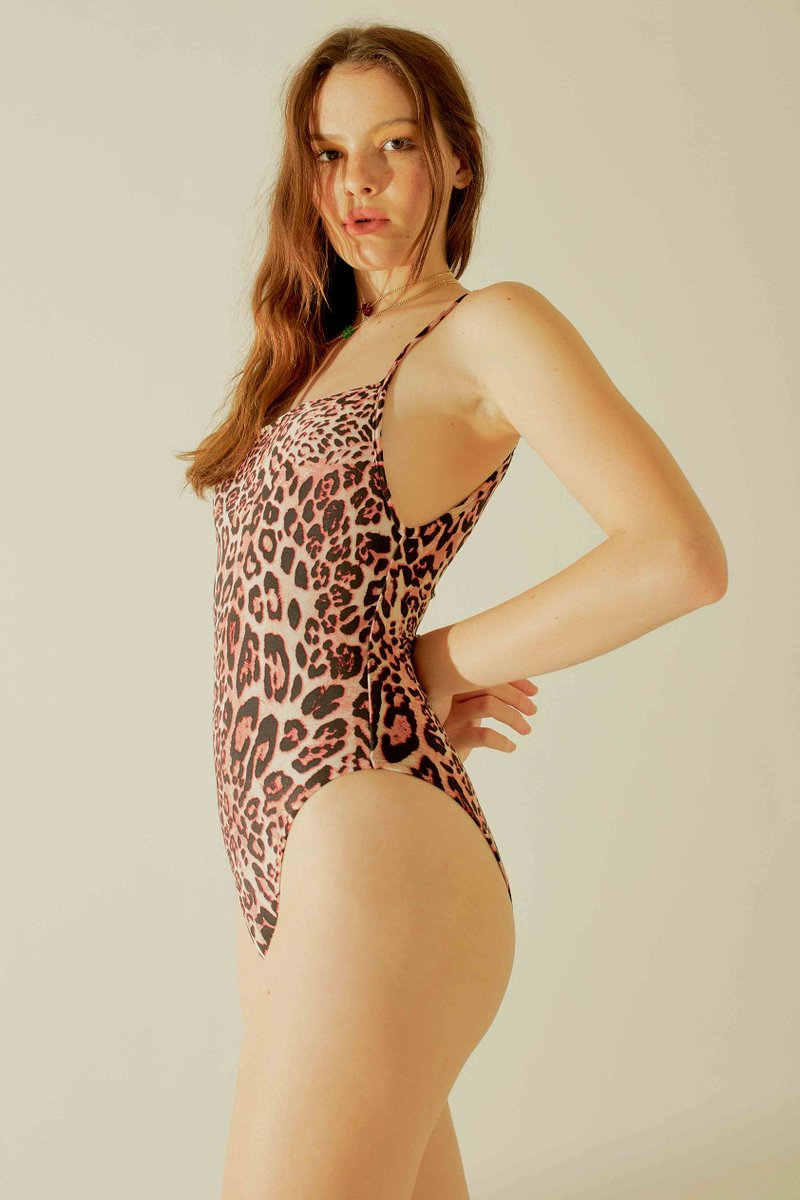 Body Isis Leopardo Rosa