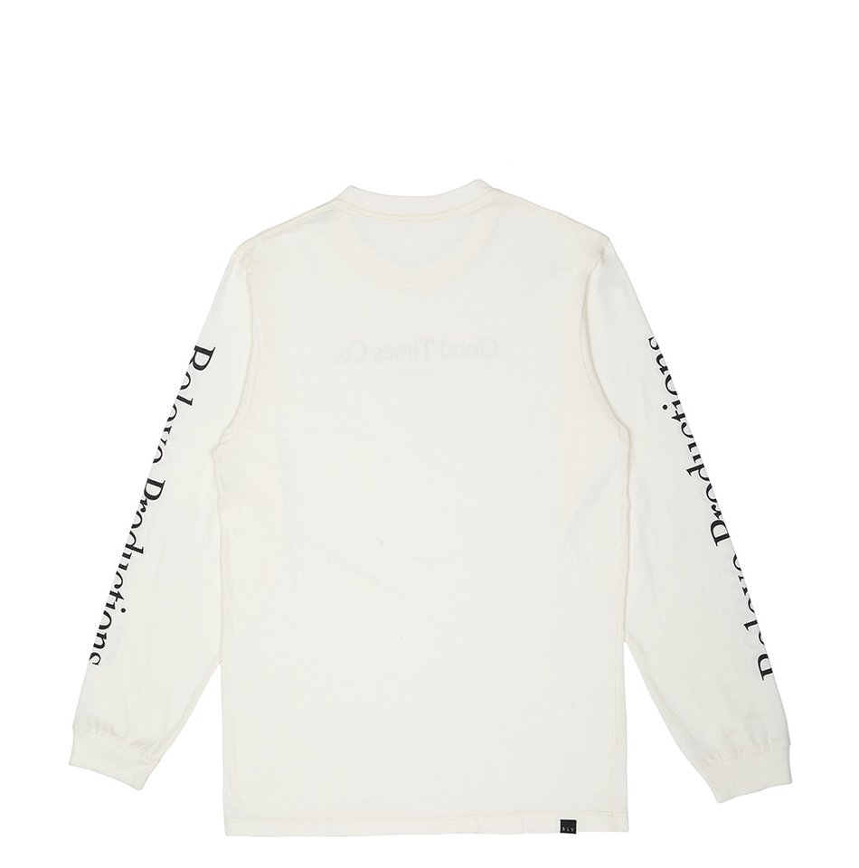 BLV Data Long Sleeve Off White