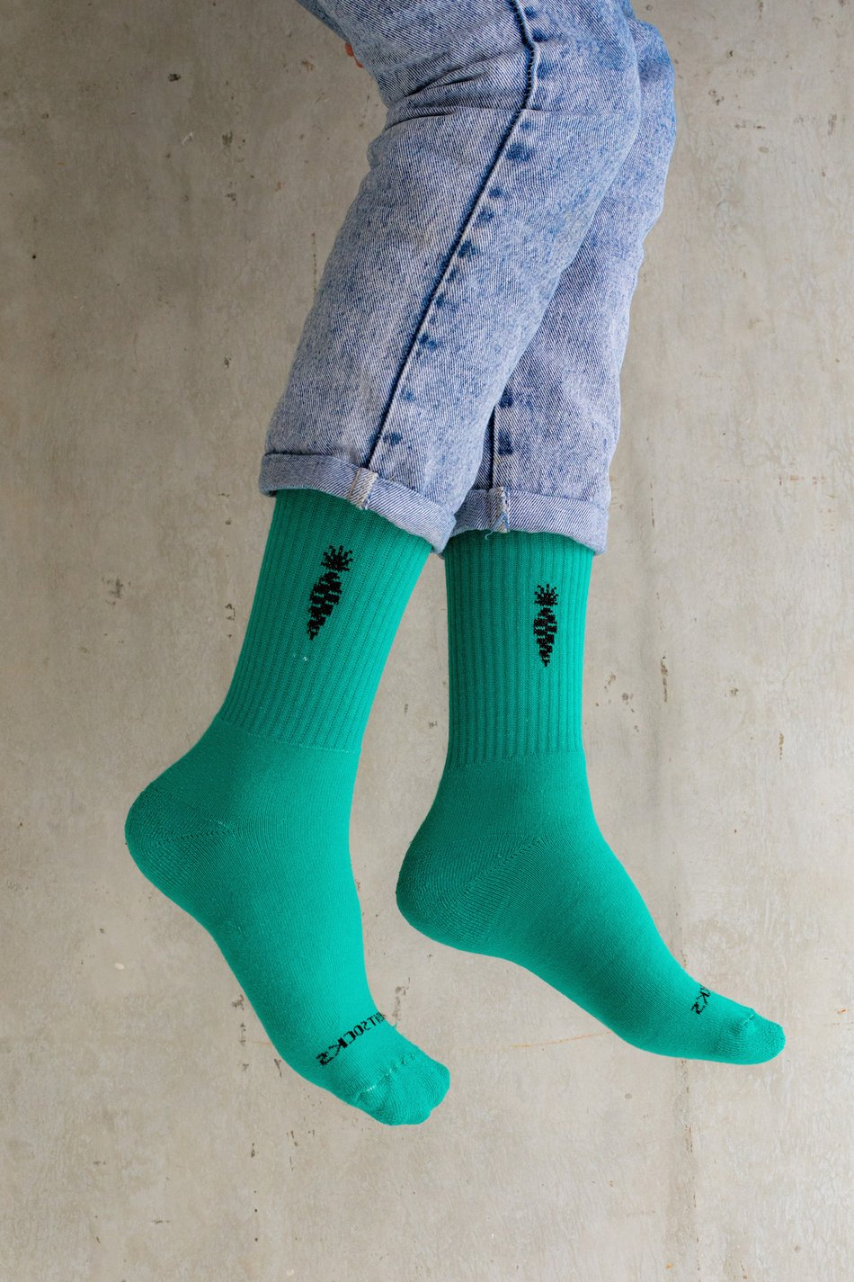 MEIA VERDE MENTA - THE RABBIT SOCKS