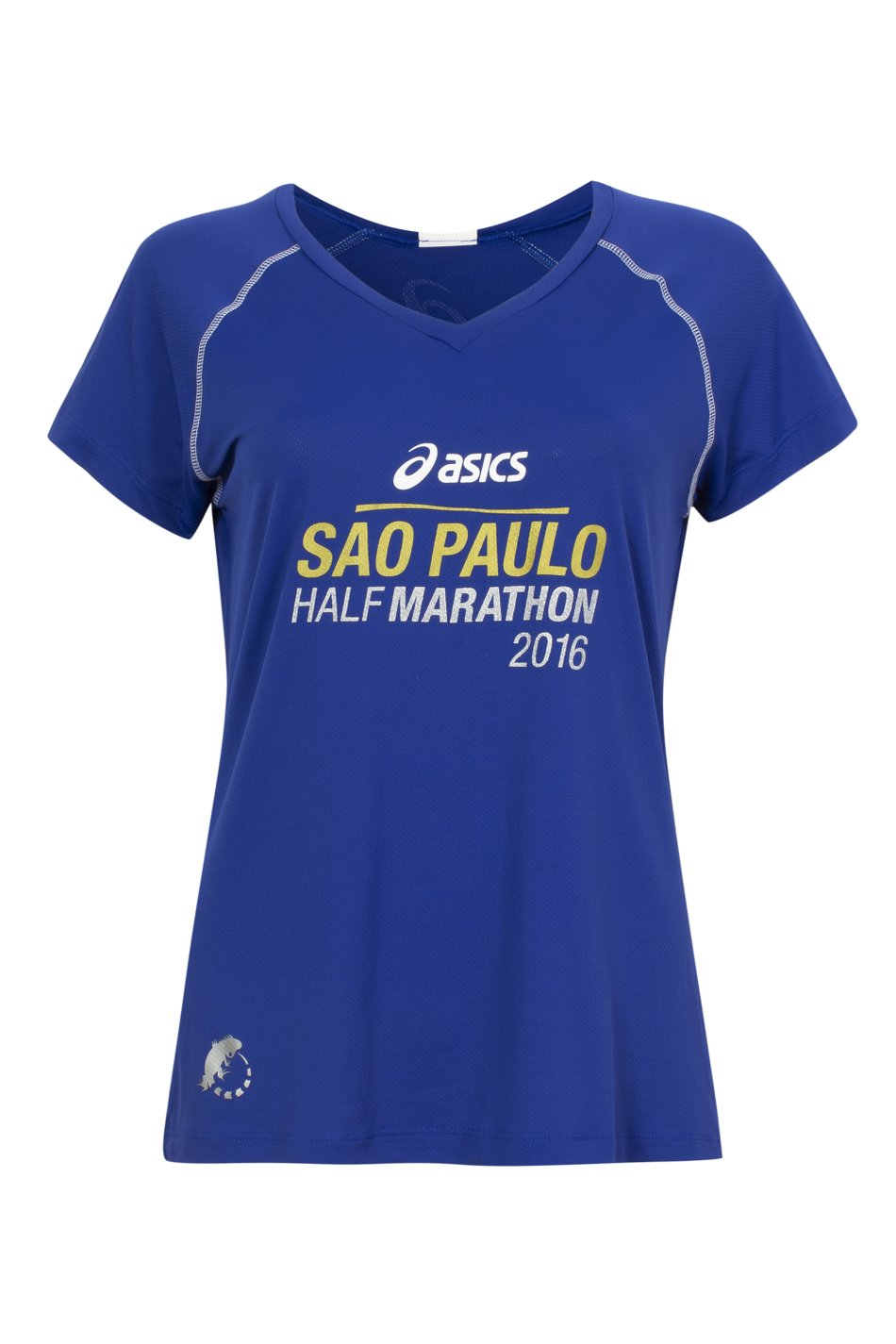 Camiseta SP City Half 2016 Azul Fem