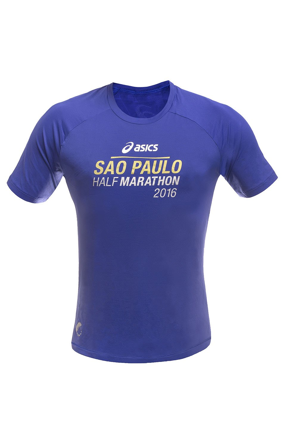 Camiseta SP City Half 2016 Azul Masc