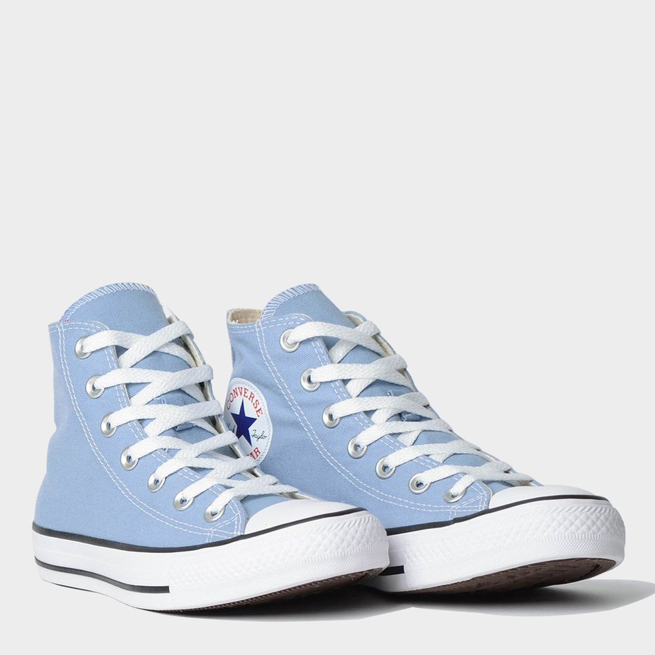 081347efbd Tênis Converse All Star Chuck Taylor As Core Hi Azul Aço - Lacali
