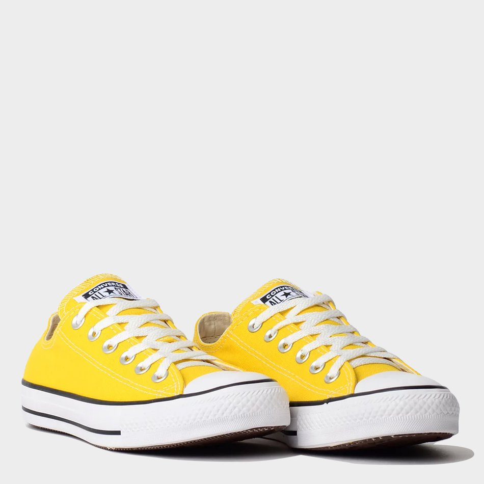 Tênis Converse All Star Chuck Taylor As Core Ox Amarelo Vivo