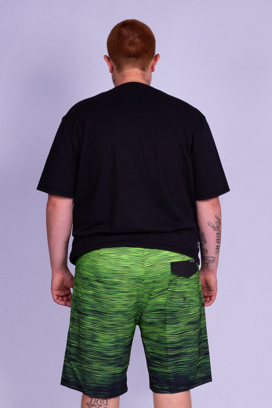 BERMUDA BOARDSHORT PLUS SIZE GRADIENTE PERFORMANCE