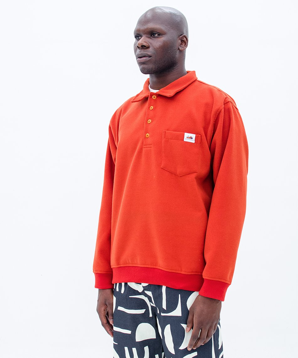 Casaco Polo Orange