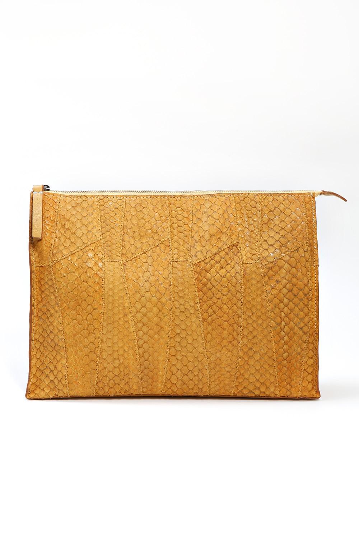Bolsa Clutch Ana Grande - Amarelo Tamanho: Único - Cor: Amarelo
