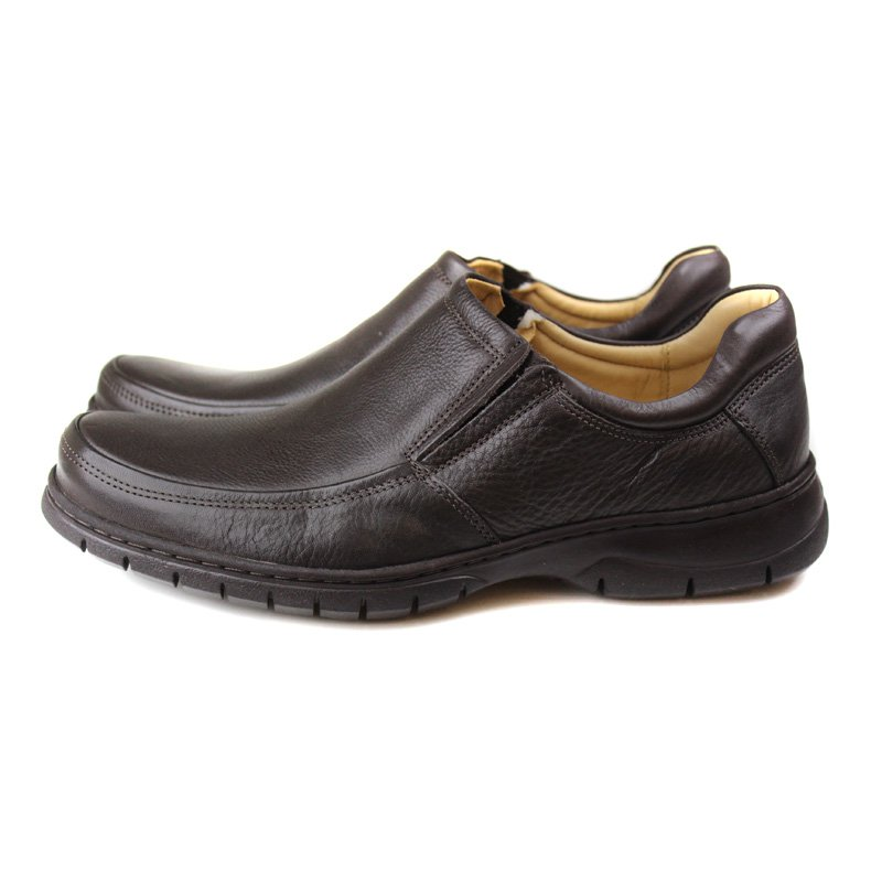 LOAFER CRISTOFOLI DE COURO BROWN
