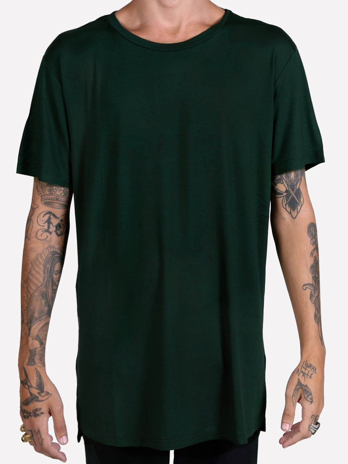 Foto do Camiseta Oliv Long Tee // Verde
