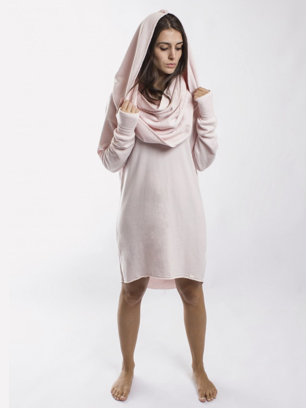 Foto do Hooded Esenco Scarf Blush