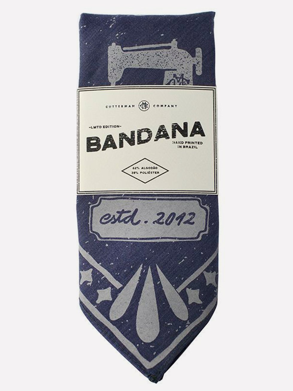 Foto do Bandana Cutterman Co. INDIGO