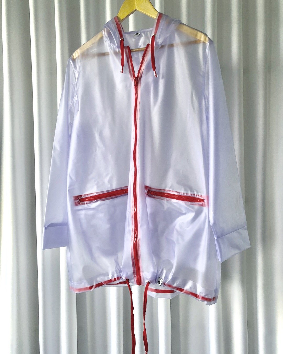 Raincoat Ed. #12 Translucent lilac/red