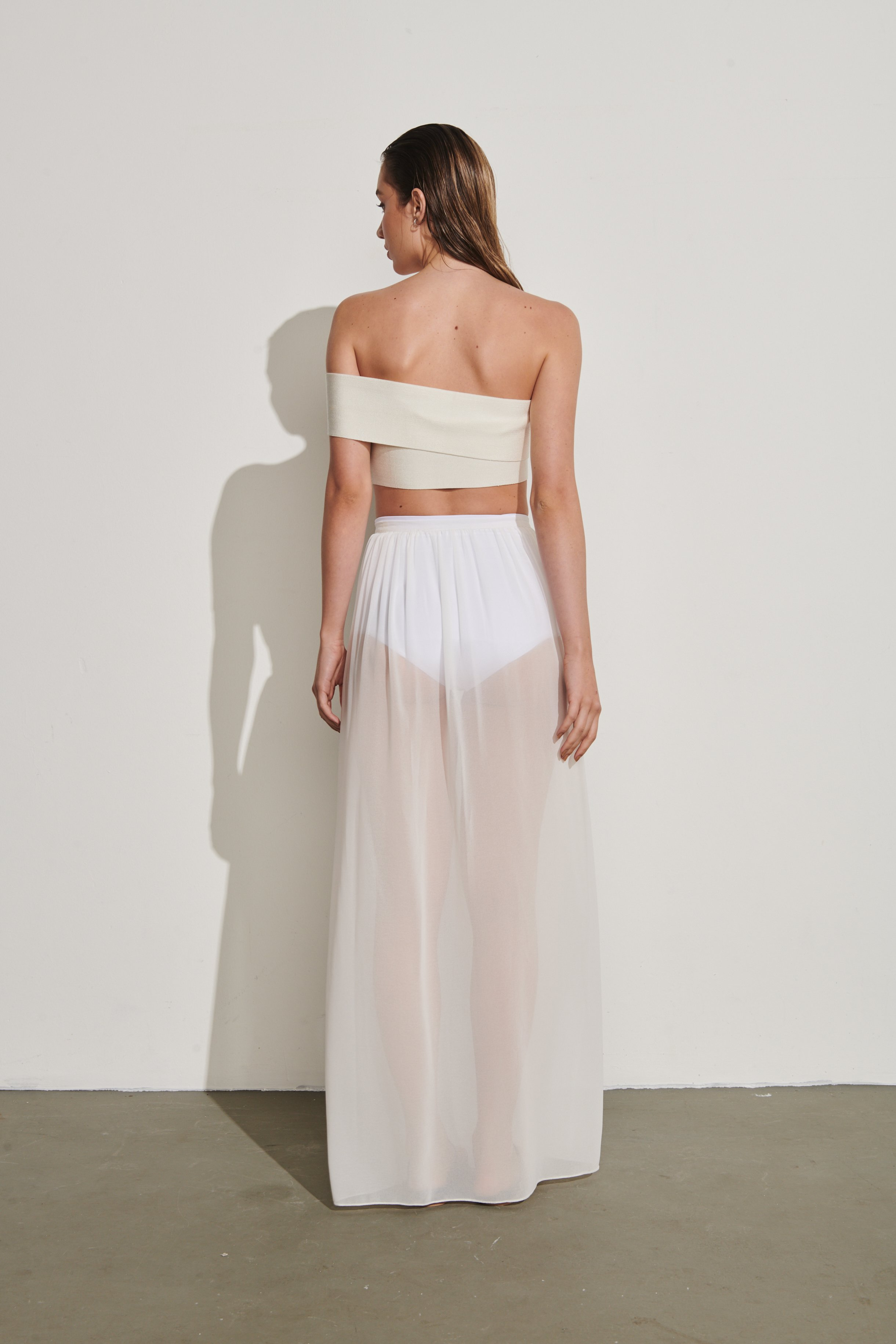 Saia Grace Bay Off-White | Grace Bay Skirt Off-White