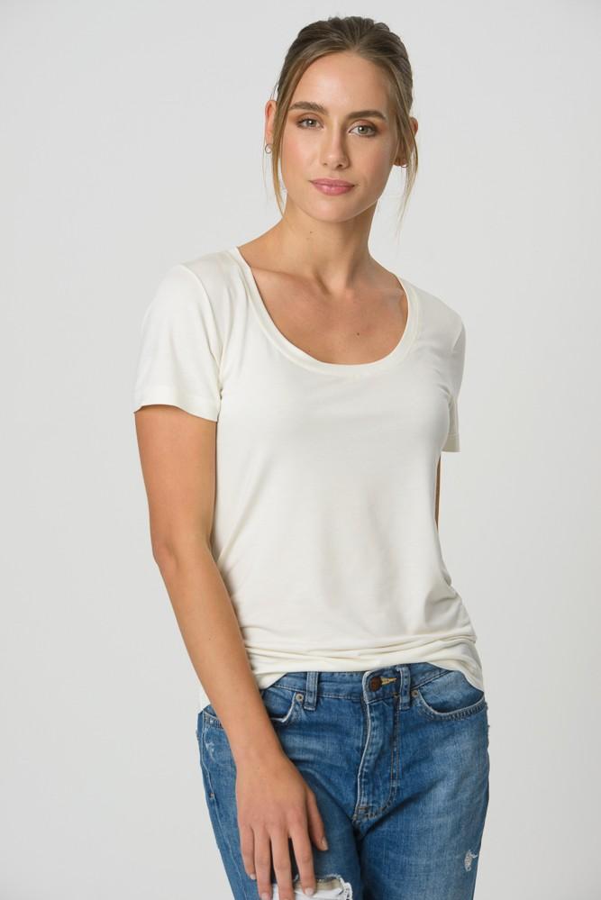 T-Shirt Gola U - Off-White