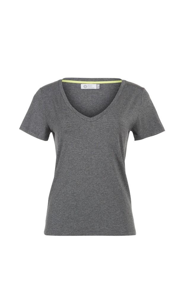 T-Shirt Gola V Viscose - Cinza Mescla Escuro