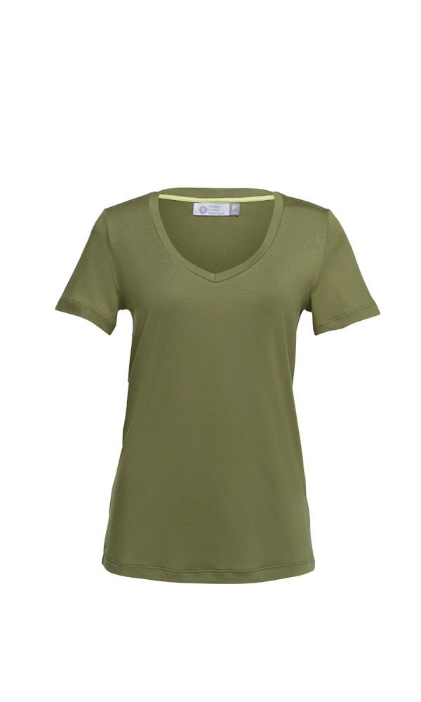 T-Shirt Gola V Modal - Oliva