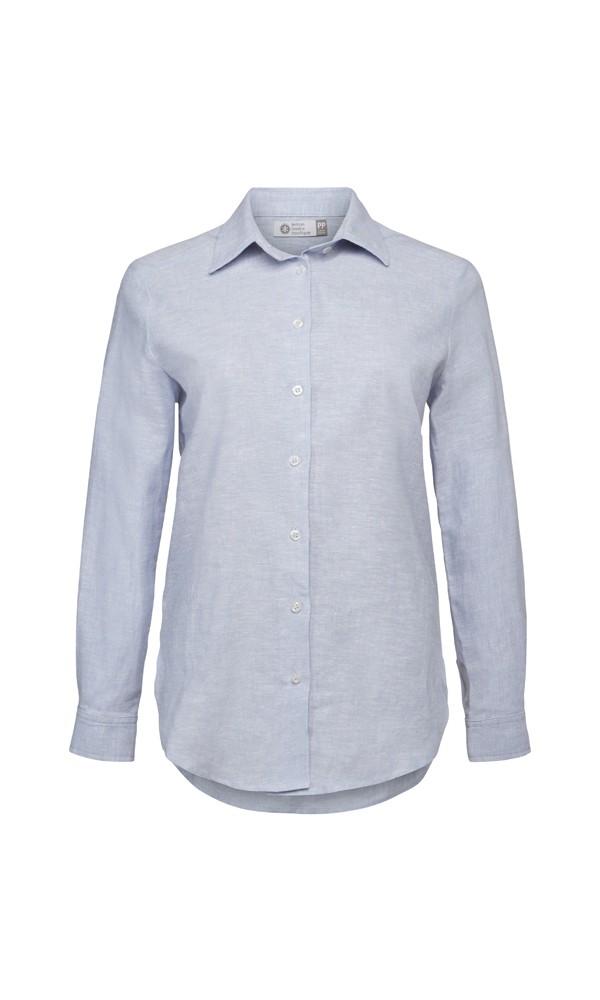 Camisa De Linho - Azul Claro