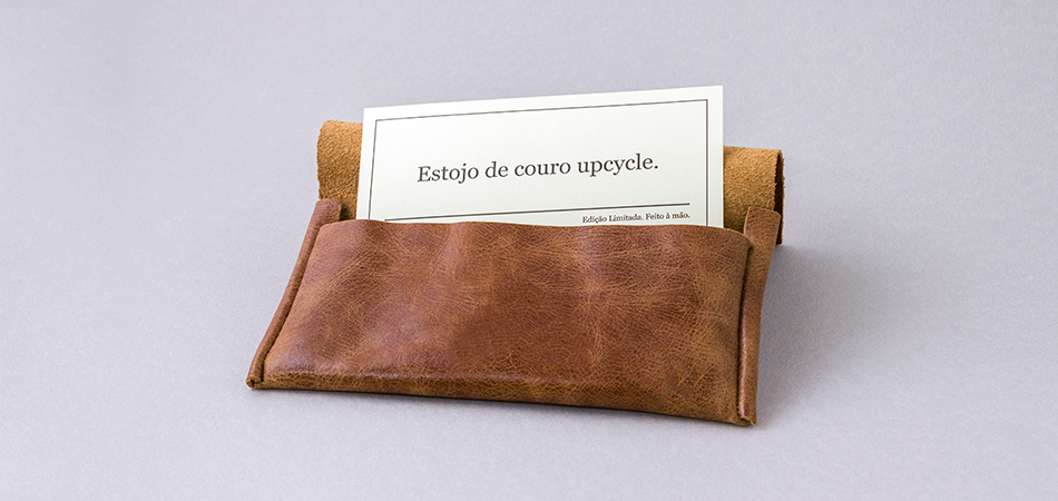 Estojo Courino Upcycle | Leather Case