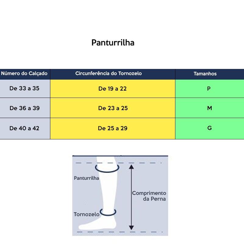 0d01c8eb4 Meia Elástica Média Compressão Panturrilha 3 4 sem ponteira 20-30mmHg  Sigvaris Basic. Next