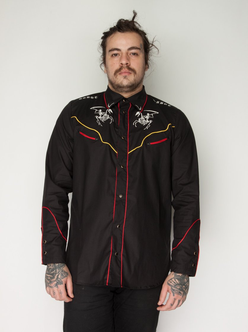 Camisa Ghost Riders Preto