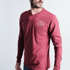 CAMISETA ELEMENTS VINHO