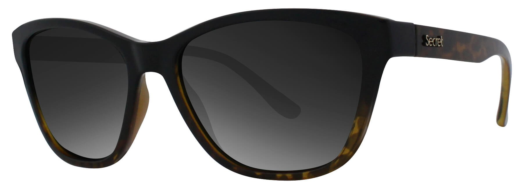 ÓC SECRET NARA FADE BLACK/TURTLE / POLARIZED GRADIENT BROWN