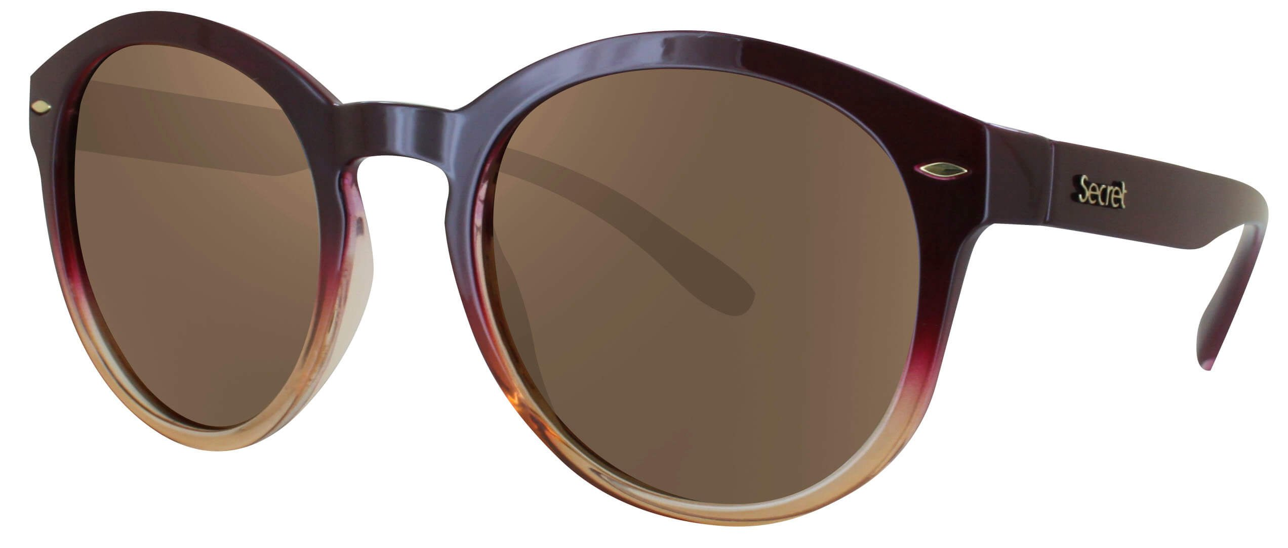 ÓC SECRET WANNABE FADE PASSIONATE/YELLOW / POLARIZED BROWN