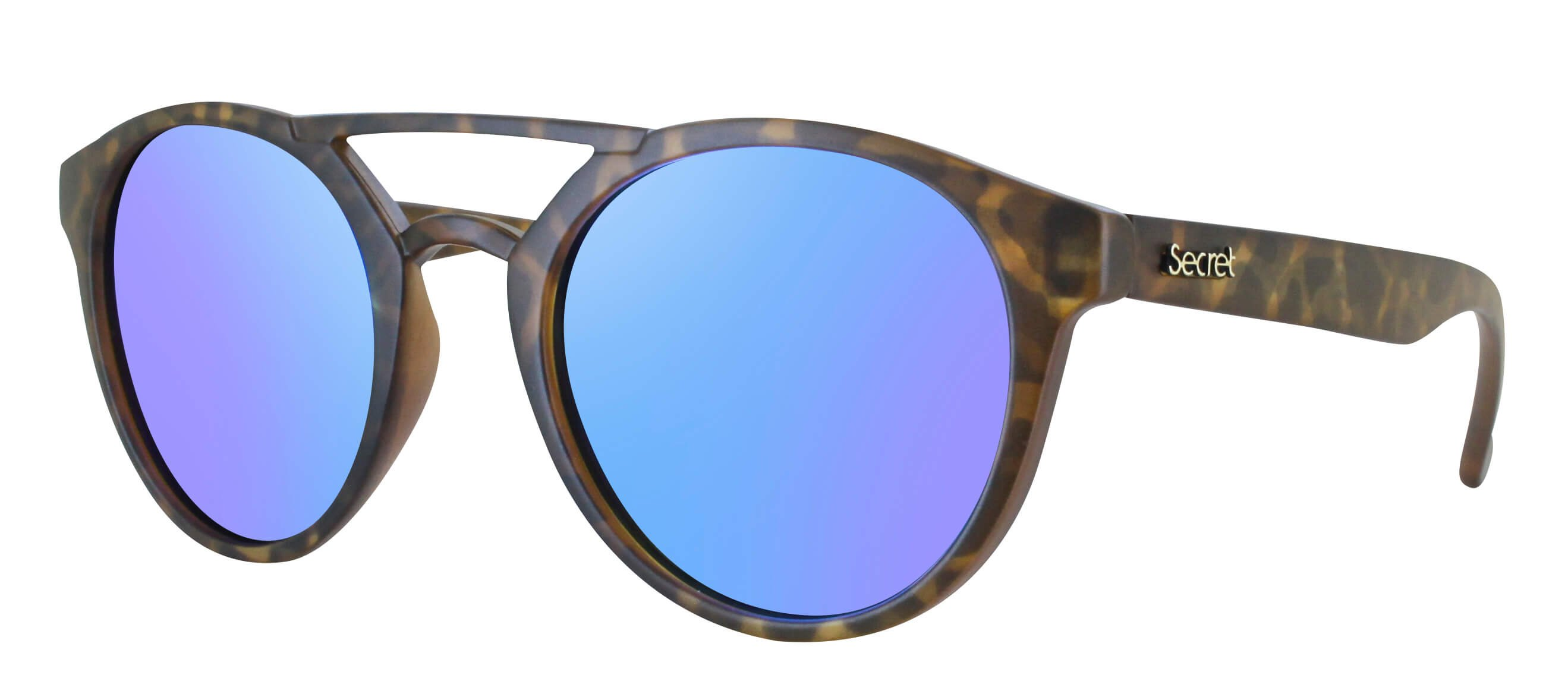 ÓC SECRET BREAKAWAY MATTE HAVANA TURTLE / POLARIZED BLUE