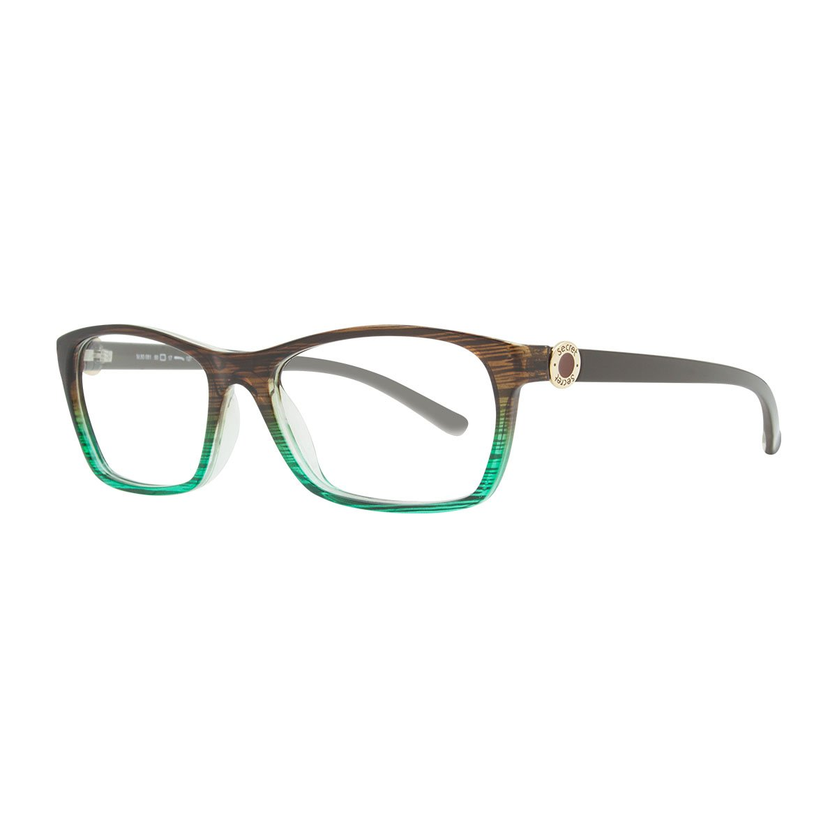 SECRET GRILAMID 80081 GRADIENT STRIPED / BROWN GREEN