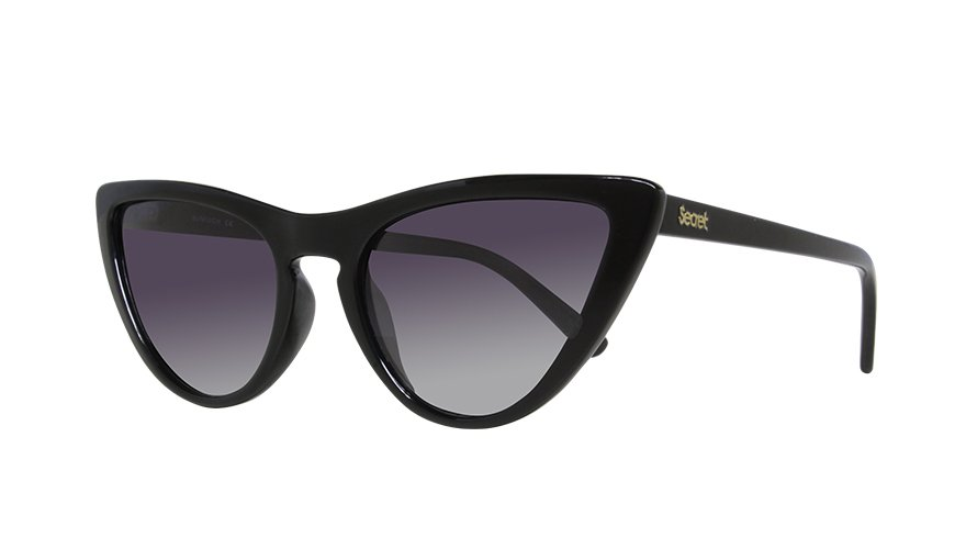 BEATRIZ GLOSS BLACK SHINY / POLARIZED GRAY LENS