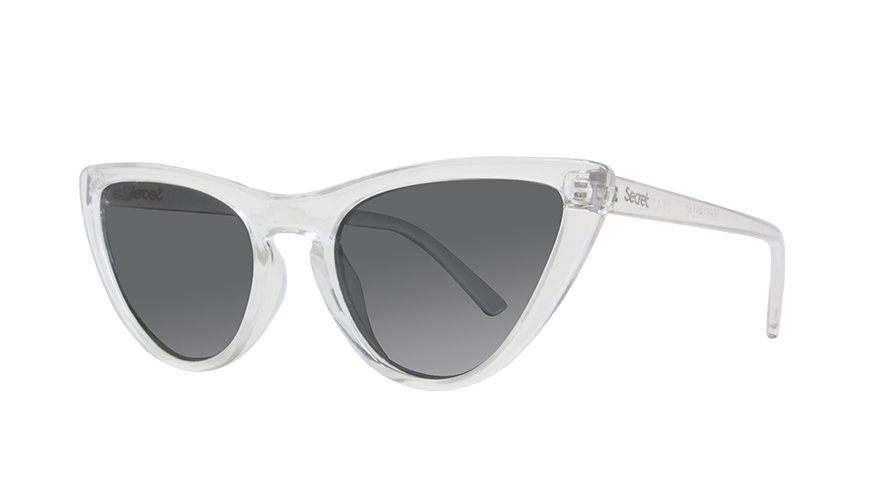 BEATRIZ CLEAR SHINY / POLARIZED GRAY