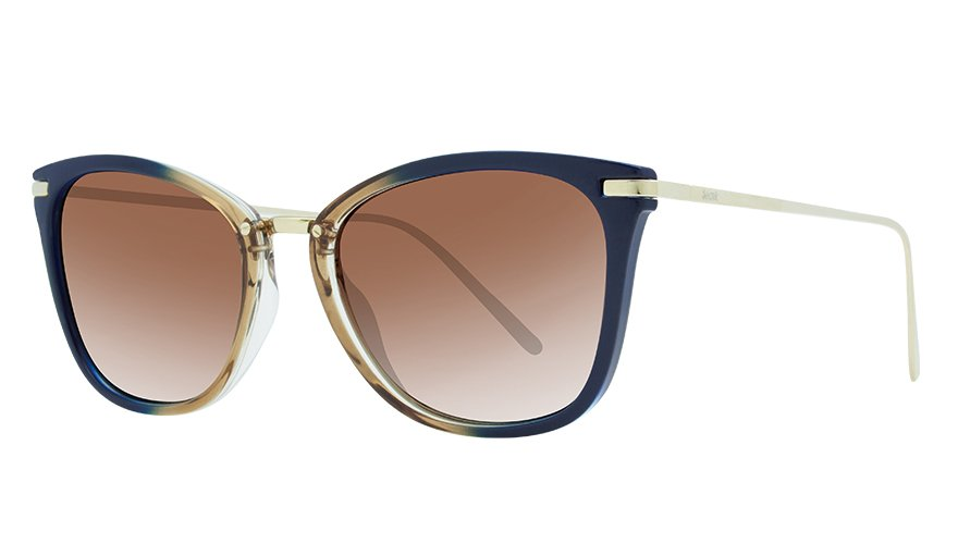 LUIZA FADE BLUE/GOLD / POLARIZED GRADIENT GRAY