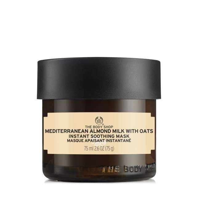 Máscara De Leite De Amêndoas Do Mediterrâneo Com Aveia The Body Shop