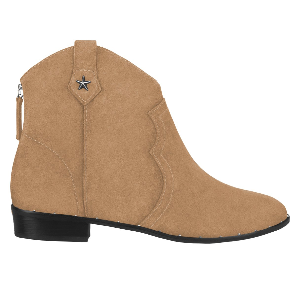 Western Boot Caramelo