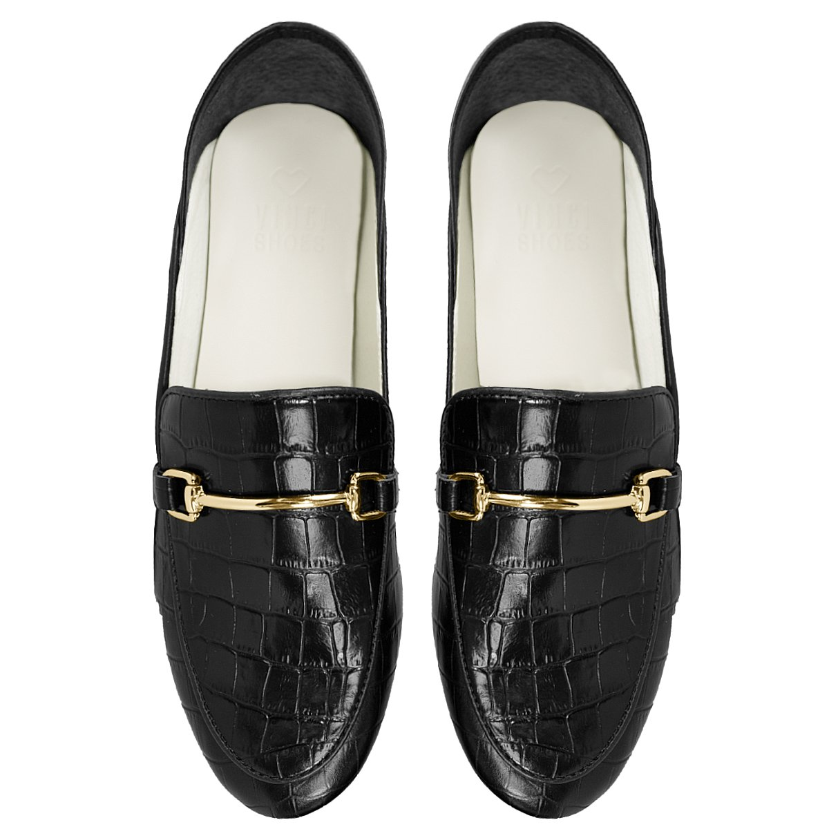 Loafer Boston Croco Black