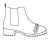 [home] ícone - menu - categoria - botas
