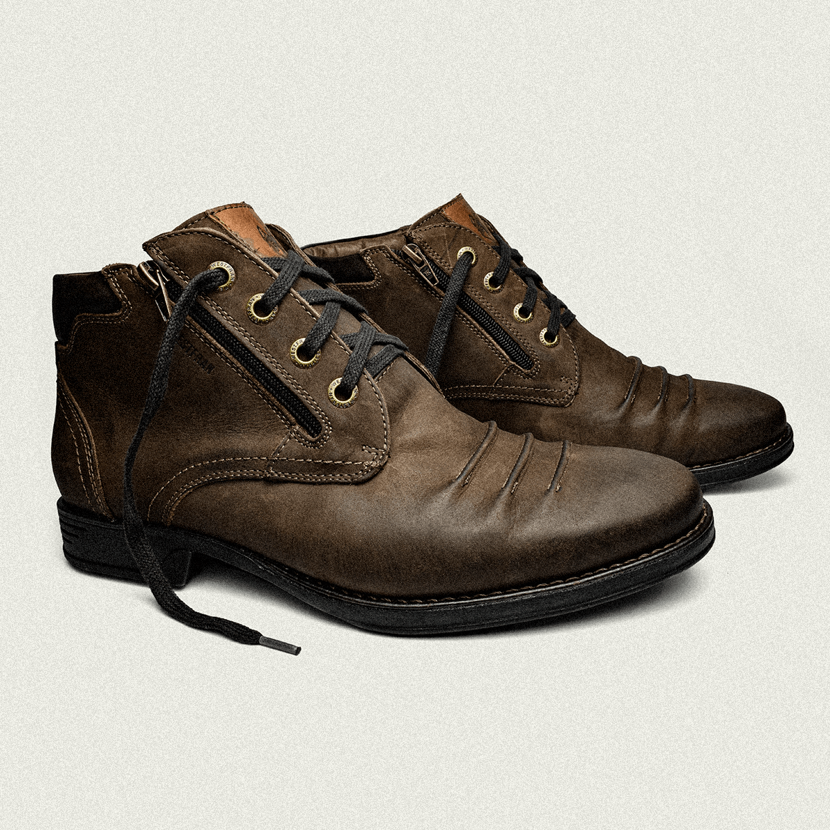Bota Dress Masculina York 21 Jade Castanho