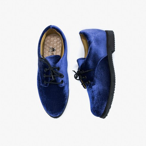 Blue Velvet Oxford